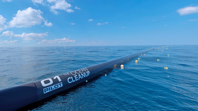 Our thoughts on the Ocean Cleanup