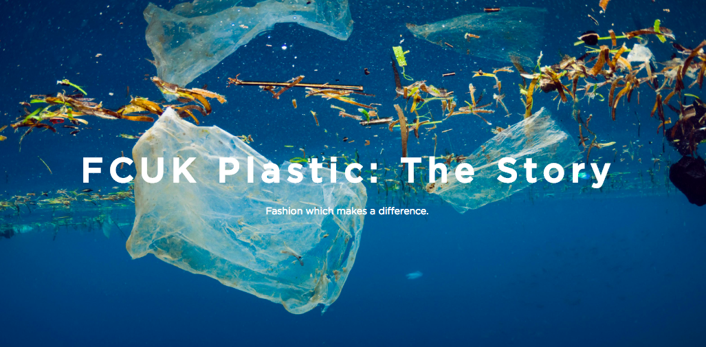 Plastic Oceans partners with French Connection for Recycling Week 2018